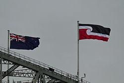 250px-Tino_rangatiratanga_flag_on_Harbour_Bridge