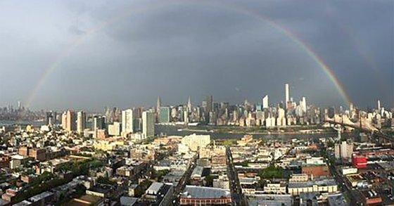 double ranbow New York 11092015