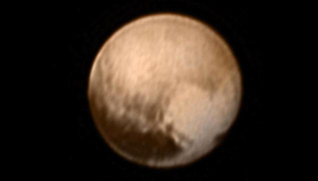Plutos heart