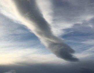 Woman Captures 'Hand Of God' Cloud
