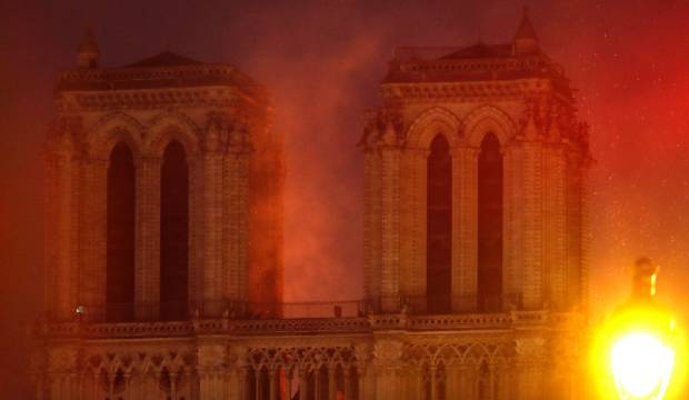 Notre-Dame Is the Burning Heart of Paris There is the sense that we have failed, as a civilization, to care for something priceless. Huge fire at Notre Dame cathedral in Paris, France