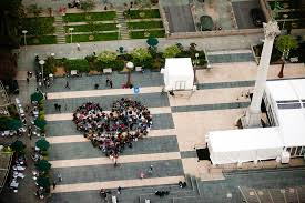 Image result for heart shaped flash mob