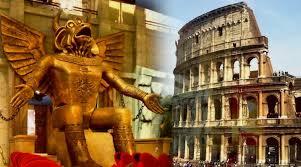 Ancient God of Child Sacrifice at Colosseum