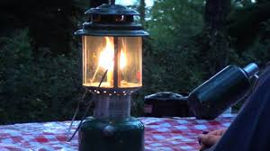 How to light a Coleman Lantern - YouTube